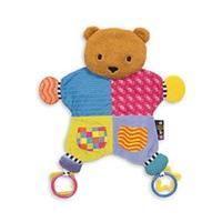 Rainbow Designs Amazing Baby Blanket Teether Bear