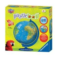 Ravensburger World Globe 180 Piece Puzzleball