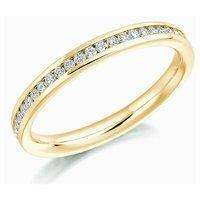 Raphael 18ct Yellow Gold and 0.50ct Round Brilliant Diamond Full Set Eternity Ring