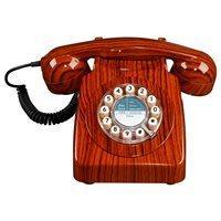 RETRO 746 TELEPHONE in Wood Effect