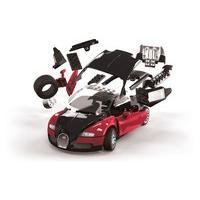 Red/black Airfix Quickbuild Bugatti Veyron Car Model Kit