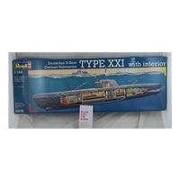 Revell Deutsches U - Boat Type XX1 with Interior. 1/144 05078