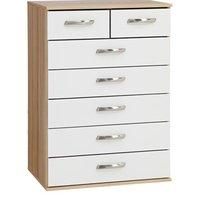 Regal 2 over 5 Chest of Drawers