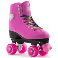 Rio Roller Figure Lights Quad Roller Skates - Pink