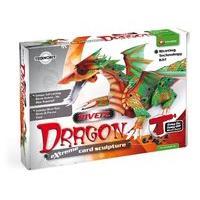 Rivetz Dragon Card Sculpture