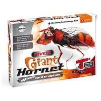 Rivetz Giant Hornet Card Sculpture