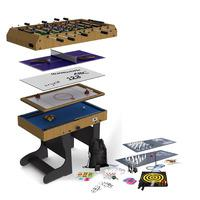 Riley 4ft 12 in 1 Folding Multi Games Table