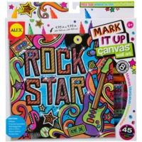 Rock Star Canvas Wall Art Kit