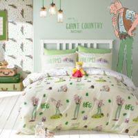 Roald Dahl Big Friendly Giant Multicolour Single Bed Set