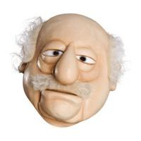 Rubie\'s The Muppets Deluxe Overhead Latex Mask Waldorf