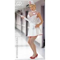 S Ladies Womens Nurse Costume for Hospital Doctors Fancy Dress Female UK 8-10