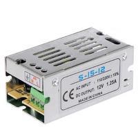 SAMDI DC 12V 1.25A 15W Switching Power Supply - Silver