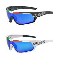 Salice 016 Italian Edition RWP Polarised Sunglasses - White/Blue