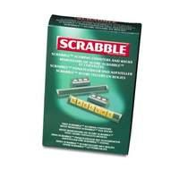 Scrabble Scoring Markers and Racks (6-pack)