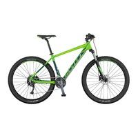 Scott Aspect 940 Green - 2017 Mountain Bike