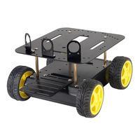 Seeed ROB103F3M 4WD Arduino Compatible Robotics Platform Inc Motor...
