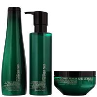 Shu Uemura Art of Hair Ultimate Remedy Trio Set: Extreme Restoration Shampoo 300ml, Extreme Restoration Conditioner 250m and Extreme Restoration Masqu