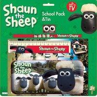Shaun The Sheep School Pack + Tin
