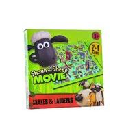 Shaun The Sheep Snakes And Ladders Game