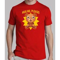 shirt hug teddy boy