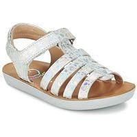 Shoo Pom GOA SPART girls\'s Children\'s Sandals in Silver