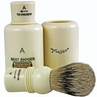 Simpsons Major A Best Badger Hair Shaving Brush With Imitation Ivory Handle