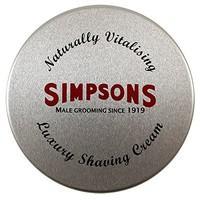 Simpsons Luxury Shaving Cream 125 ml Tin