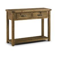 Sierra Rough Sawn Pine Console Table