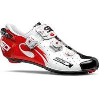 Sidi - Wire Carbon Vernice Shoes White/Black/Red 42