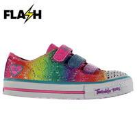 Skechers Twinkle Toes Rainbow Shoes Child Girls