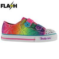 Skechers Twinkle Toes Rainbow Shoes Infant Girls