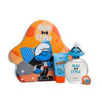 Smurfs Brainy 3pce Tin Set