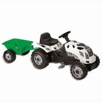 Smoby Cow Tractor with Trailer