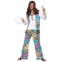 Smiffys - Groovy Hippie Costume - Medium (38628m