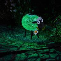 Solar Silhouette Dolly Sheep