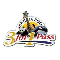 Special Offer ! San Diego 3-for-1 Pass: SeaWorld, San Diego Zoo and Safari Park