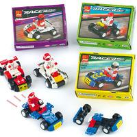 Speed Racer Building Brick Kits (Pack of 4)