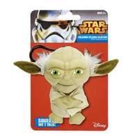 Star Wars The Clone Wars 4 inch Talking Plush Clipon Yoda