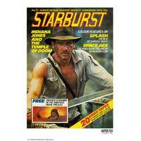 Starburst Indiana Jones Cover Poster