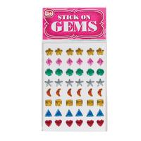 Stick On Gems each