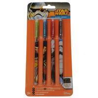 Star Wars Gel Pens 4 Pack