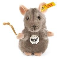 Steiff Piff Mouse 10cm Grey