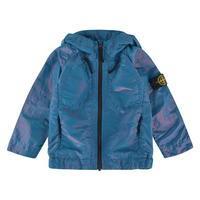 STONE ISLAND Infant Boys Metallic Hooded Jacket