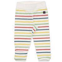 Striped Newborn Baby Trousers - White quality kids boys girls