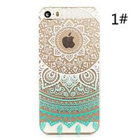 Sunflower Painted Pattern Hard Plastic Back Cover For iPhone5S/iphoneSE 4.0\