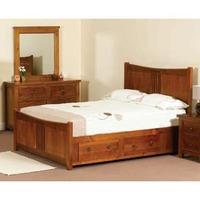 Sweet Dreams Hudson 5FT Kingsize Wooden Bedstead