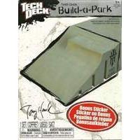 Tech Deck Build a Park - Tony Hawk Quarter Wedge Ramp (Grey)