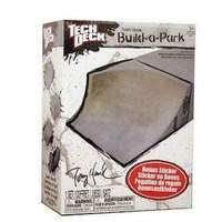 Tech Deck Build a Park - Tony Hawk Corner Bowl (Grey)