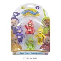 Teletubbies 4 Figure Family Pack (Multi-Colour)