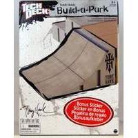 Tech Deck Build a Park - Tony Hawk Quarter Pipe (Grey)